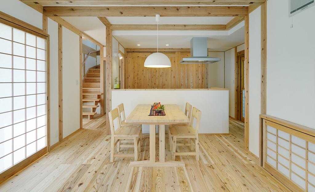 自然素材をふんだんに使った本物の健康住宅 モデルハウス「木ごころの家」特別価格にて販売致します