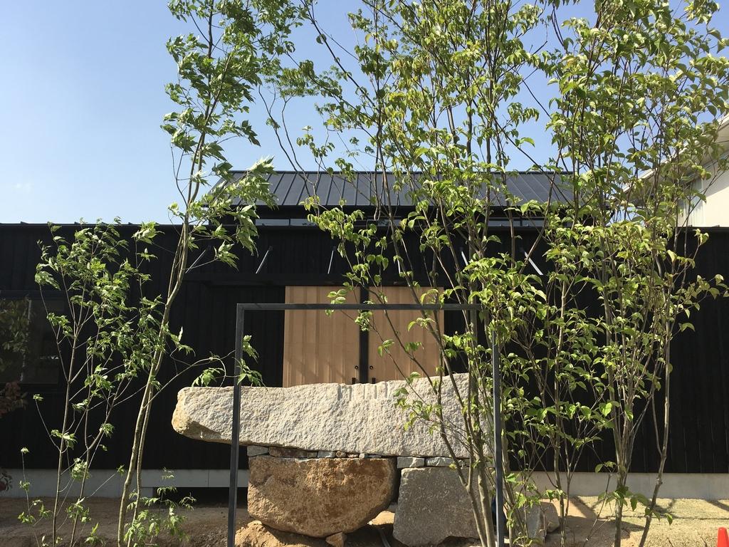 オープンハウス 杉と中庭の二世帯住宅