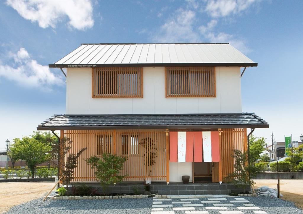 【早島駅前モデルハウス】日本の街並みシリーズ『祇園』オープン!