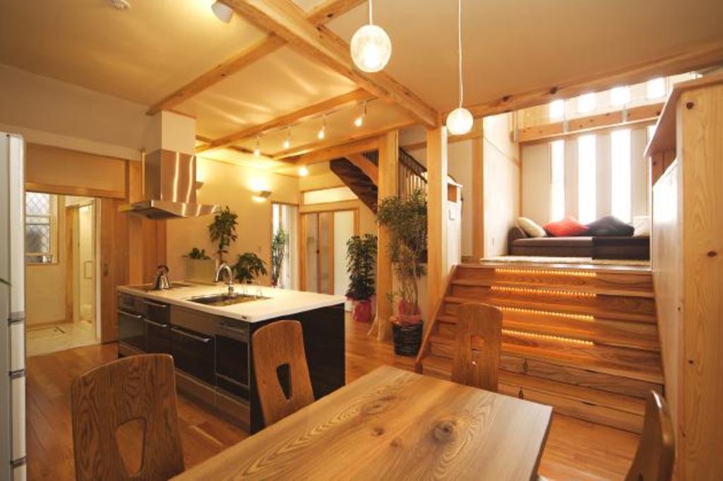 【岡山市南区泉田】遊び心たっぷり!スキップフロアのある家