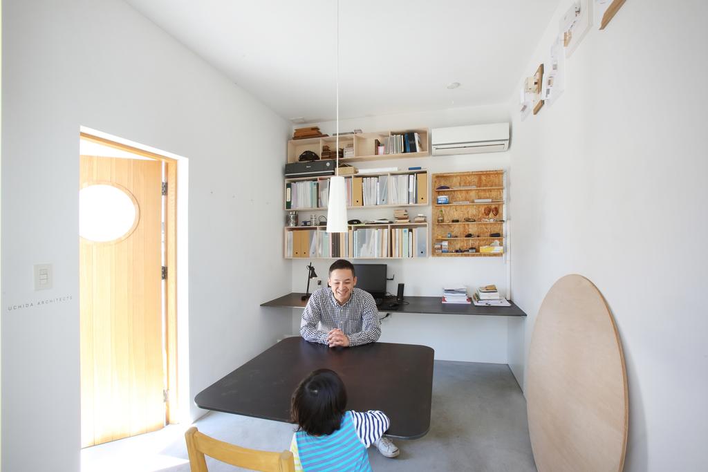 小さな団地の小さなパティオ -内田智之(建築家自邸)-【内田建築デザイン事務所】
