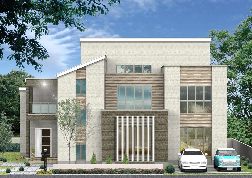 《アイムの家》二世帯住宅『Twin』 利府展示場 モデルハウス