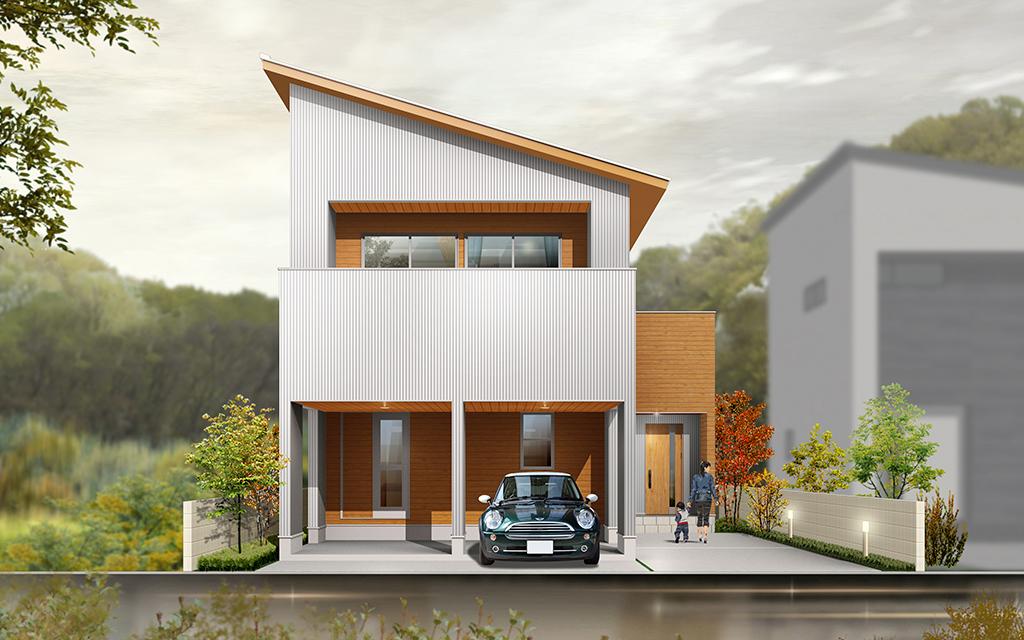 【予約制】倉敷市 真備町 箭田2期2号地 モデルハウス見学会 オシャレなデザイナーズ住宅を見学しよう!