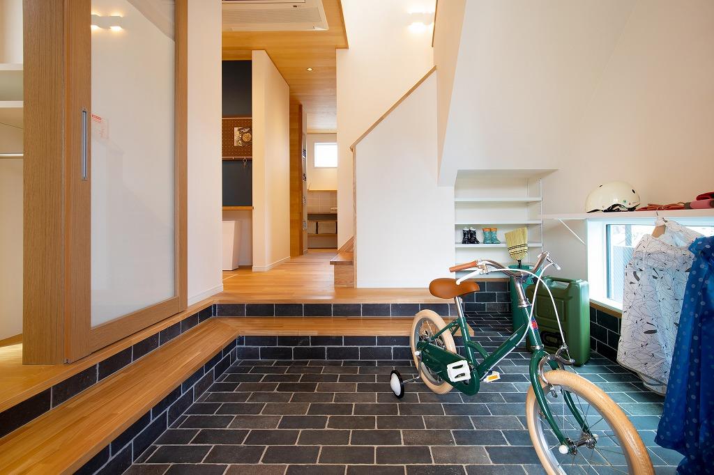 【問屋町モデルハウス「子どもが育つ家」】ママ目線の子育てしやすい家づくり》のメイン画像
