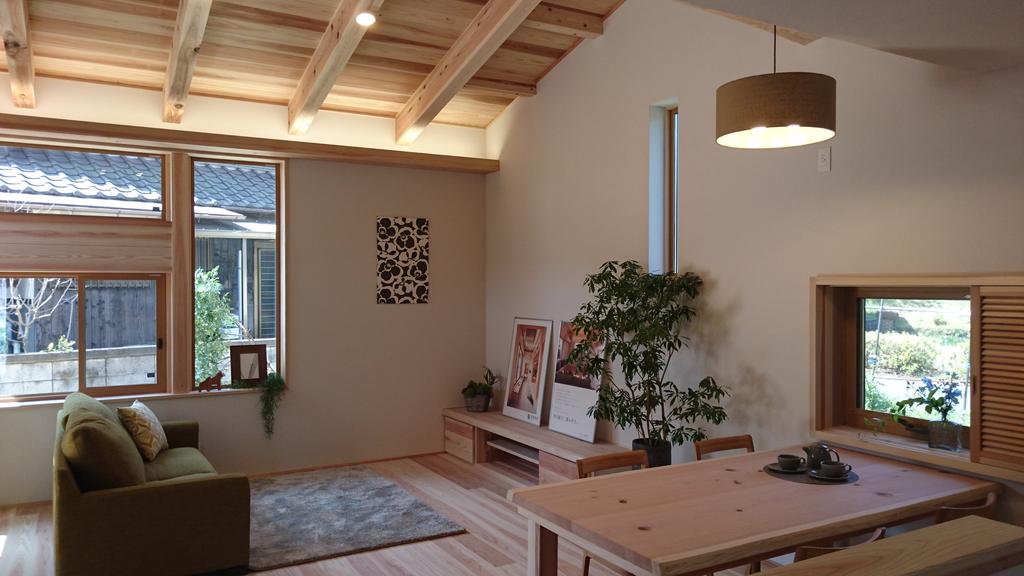 【完成見学会】 ナチュラルな空間に和のエッセンスが美しく映える家