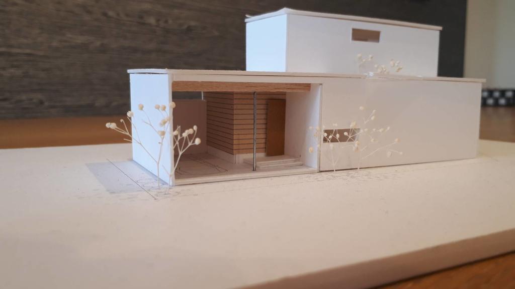 岡山市中区東川原 完成見学会 ~インナーガレージが付いた、ほぼ平屋の家~