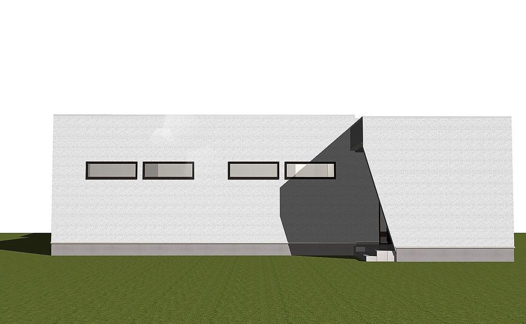 平屋×中庭 家の中心に庭がある平屋見学会