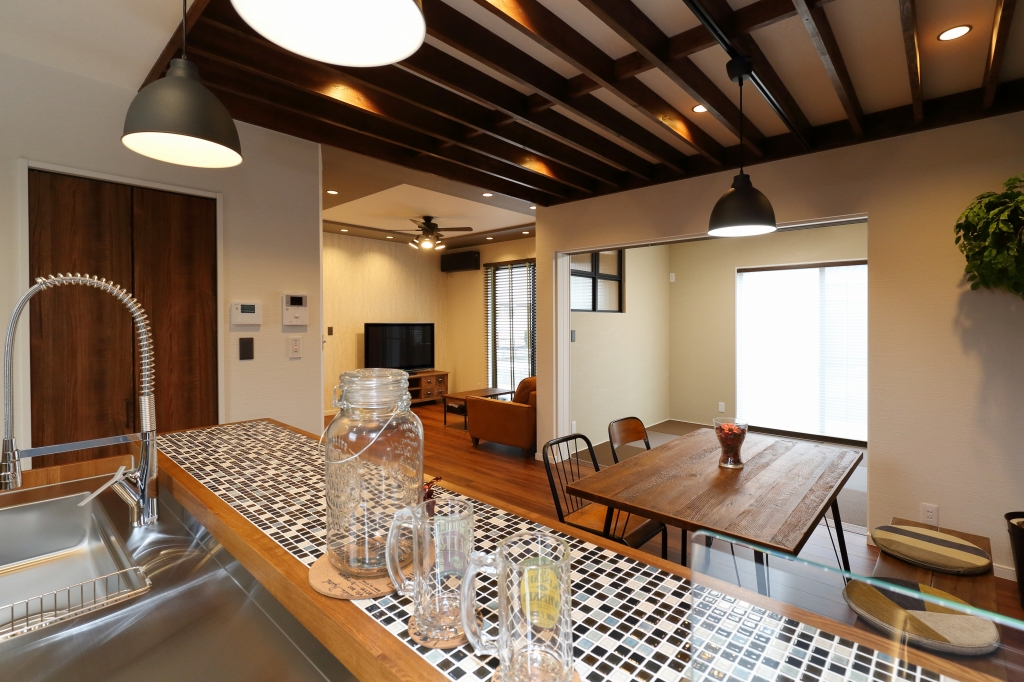 【岡山市南区大福】カフェ風の家完成見学会。